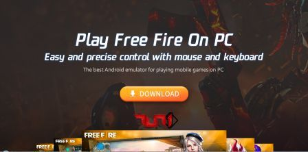 Download FreeFire untuk PC